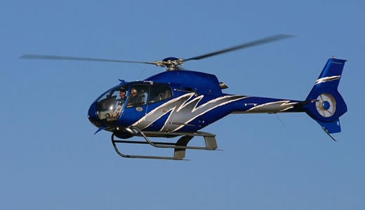 Elicopter EC120 - in zbor